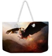 Flight Of The Eagle Weekender Tote Bag