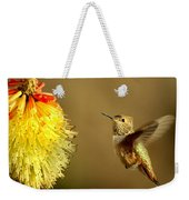 Flight Of The Hummer Weekender Tote Bag