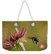 Flight Of The Mason Bee Weekender Tote Bag