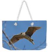 Flight Of The Night Heron Weekender Tote Bag