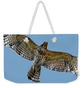 Flight Of The Red Shouldered Hawk Weekender Tote Bag