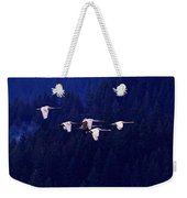 Flight Of The Swans Weekender Tote Bag
