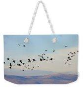 Flight Of The Waterfowl Weekender Tote Bag