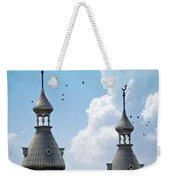 Flight Over The Crescents Weekender Tote Bag