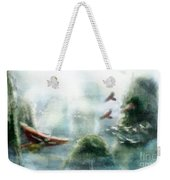 Flight Through The Mountains Weekender Tote Bag