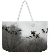 Flight To The Fields Weekender Tote Bag