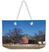Flint Hills Barn Weekender Tote Bag