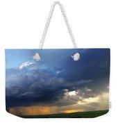 Flint Hills Storm Panorama 2 Weekender Tote Bag