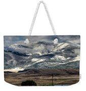Flint Ridge Range, Deer Lodge, Mt Weekender Tote Bag