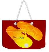 Flip Flops Kona Sunset Weekender Tote Bag
