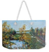 Fll At The Oyster River Weekender Tote Bag
