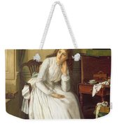Flo Dombey In Captain Cuttle's Parlour Weekender Tote Bag