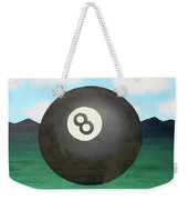Floating 8 Weekender Tote Bag