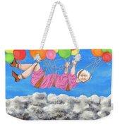 Floating Above Storm Clouds Weekender Tote Bag
