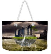 Floating Castle Weekender Tote Bag