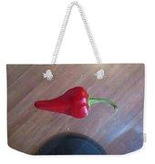 Floating Cherry Chilli Weekender Tote Bag