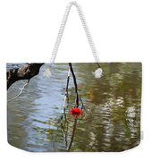 Floating Flower Weekender Tote Bag