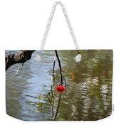 Floating Flower Weekender Tote Bag
