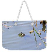 Floating Frog Weekender Tote Bag