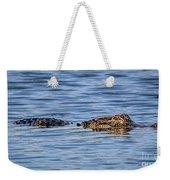 Floating Gator Weekender Tote Bag