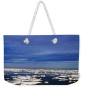 Floating Ice Weekender Tote Bag
