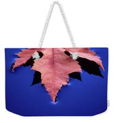 Floating Leaf 2 - Maple Weekender Tote Bag