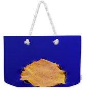 Floating Leaf 3 - Birch Weekender Tote Bag