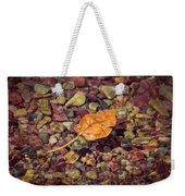 Floating Leaf Weekender Tote Bag