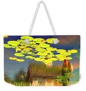 Floating Lily Pond Weekender Tote Bag
