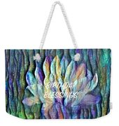 Floating Lotus - Birthday Blessings Weekender Tote Bag