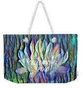 Floating Lotus - Celebrating You Weekender Tote Bag