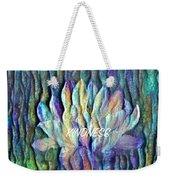Floating Lotus - Kindness Weekender Tote Bag
