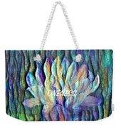 Floating Lotus - Oneness Weekender Tote Bag