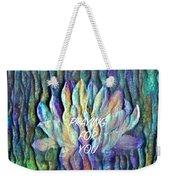 Floating Lotus - Praying For You Weekender Tote Bag