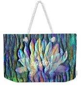 Floating Lotus - Serenity Weekender Tote Bag