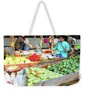 Floating Market In Thailand Weekender Tote Bag
