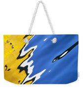 Floating On Blue 33 Weekender Tote Bag