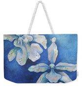 Floating Orchid Weekender Tote Bag