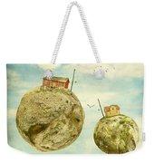 Floating Village Weekender Tote Bag