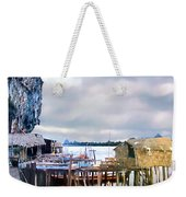 Floating Village Thailand Weekender Tote Bag