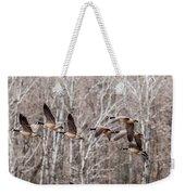 Flock Of Geese Weekender Tote Bag