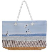 Flock Of Gulls Weekender Tote Bag