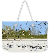Flock Of Seagulls Weekender Tote Bag