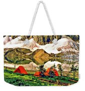 Floe Lake Weekender Tote Bag