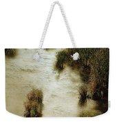 Flood Tide In The Salt Marsh Weekender Tote Bag