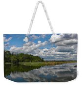 Flooded Low Country Rice Field Weekender Tote Bag