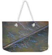 Flooded Rails Weekender Tote Bag