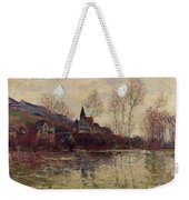 Floods At Giverny Weekender Tote Bag by Claude Monet