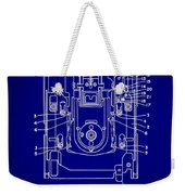 Floppy Disk Assembly Patent Drawing 1e Weekender Tote Bag