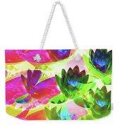 Floral Abstract #3 Weekender Tote Bag